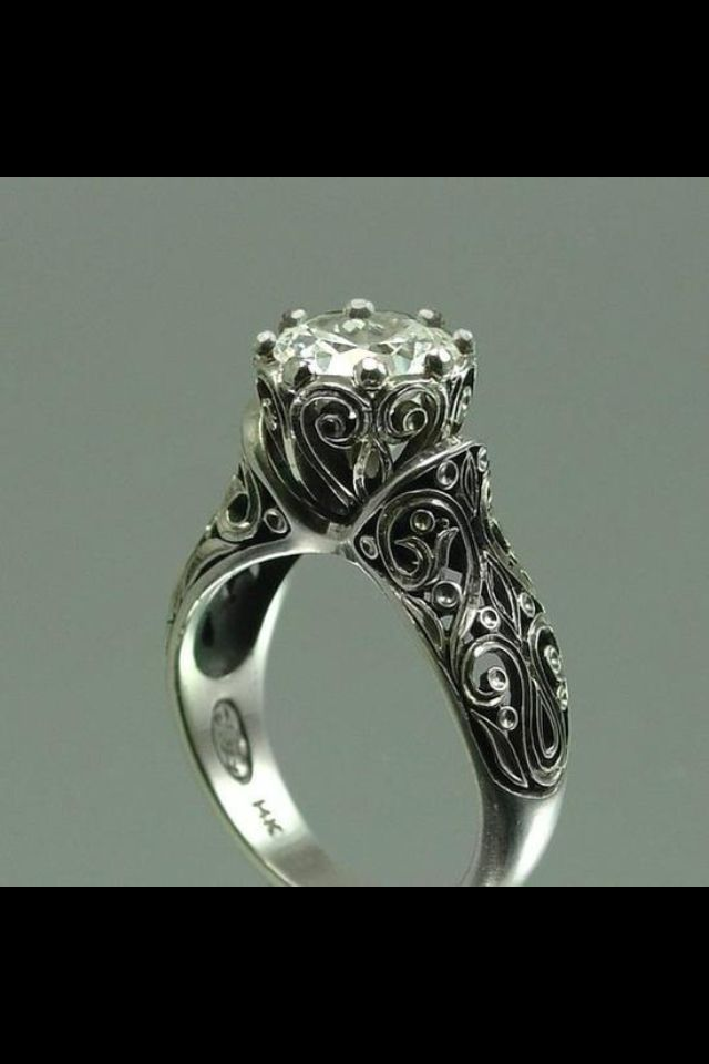 Engagement Ring Wedding Rings Vintage