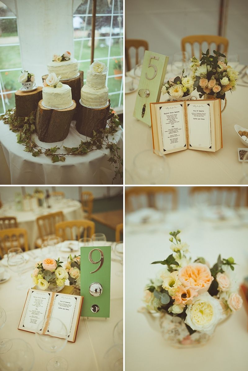 A Secret Garden Party Style Wedding In Peterborough With Lace Pronovias Dress