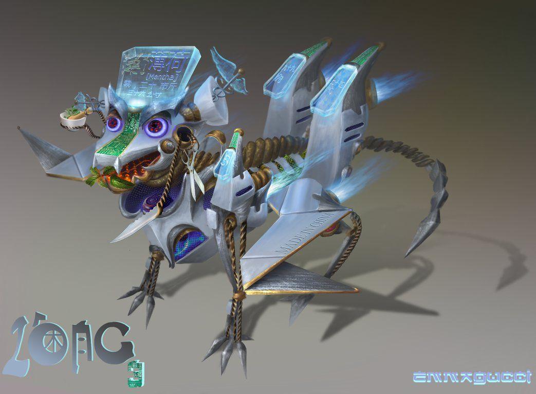 Lo'ng 3 robot concept by emmagucci on DeviantArt