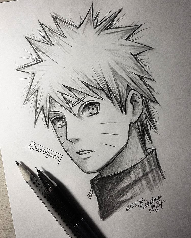 Naruto Drawings: Since I Ruined My Madara Drawing(I Accidentally Spilled My