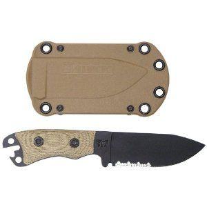 Ka-Bar Becker Necker BK11 Serrated Blade Knife