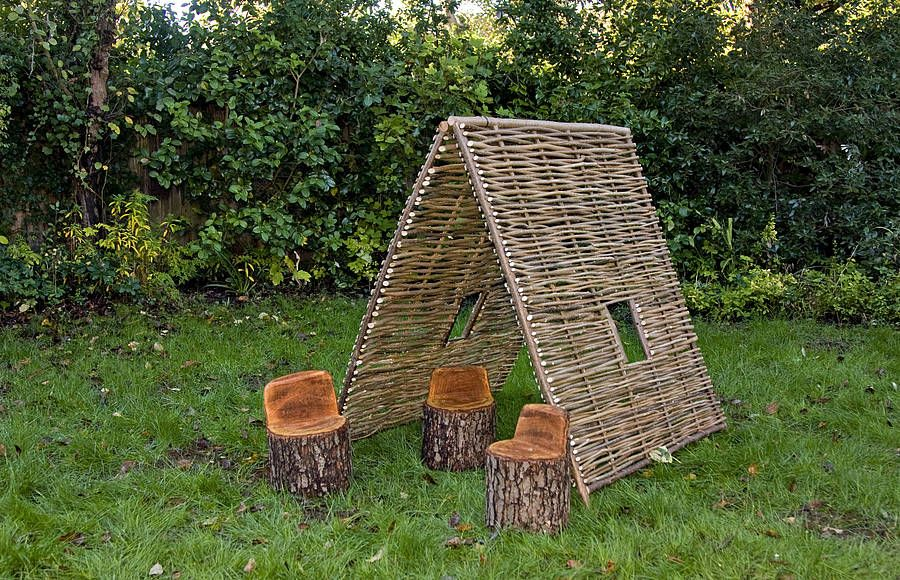 Children Garden Furniture Childrens hazel tunnel garden ideas child friendly garden and childrens hazel tunnel workwithnaturefo
