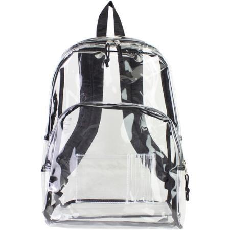 e93e49c4ec Eastsport Clear Backpack - Walmart.com
