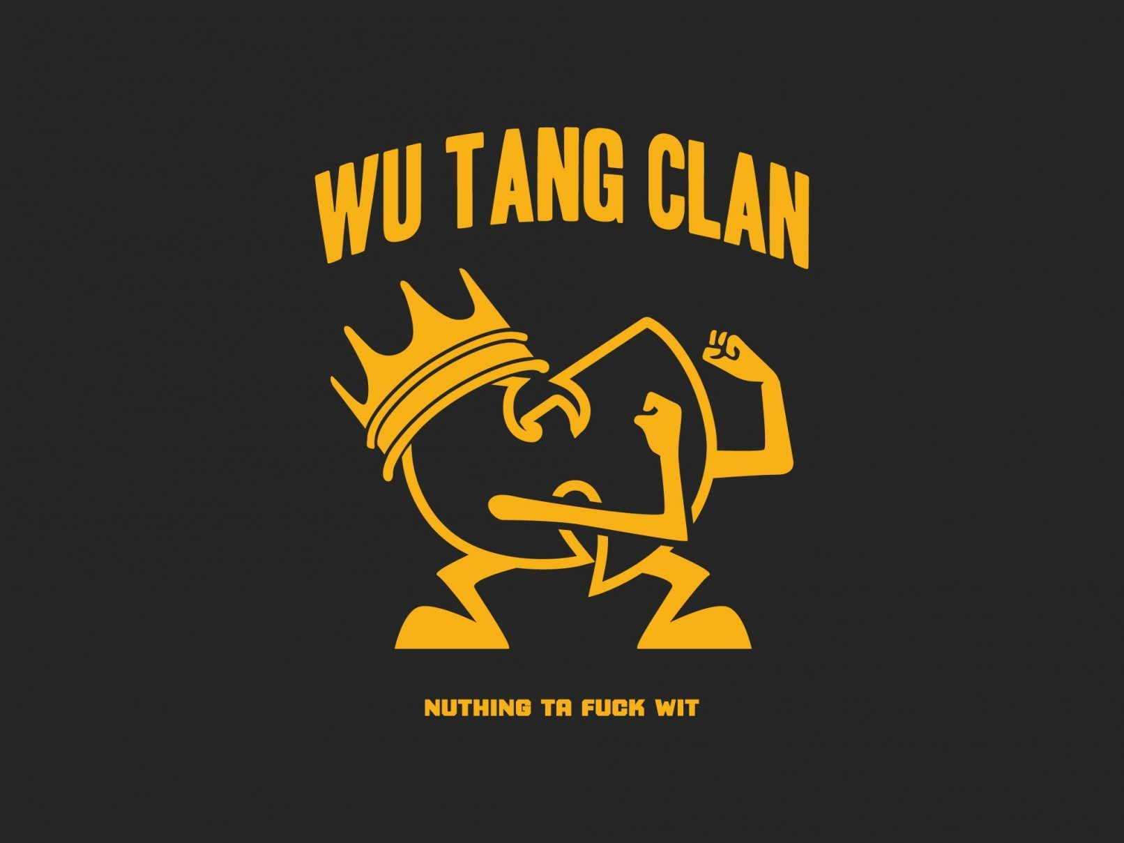 Wu Tang Clan Aint Bart Simpson Nuthing To Fuck With Shirt