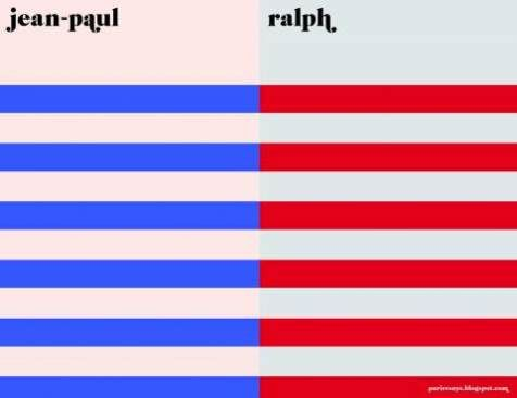 Jean-Paul vs Ralph from Paris vs New York #minimalism