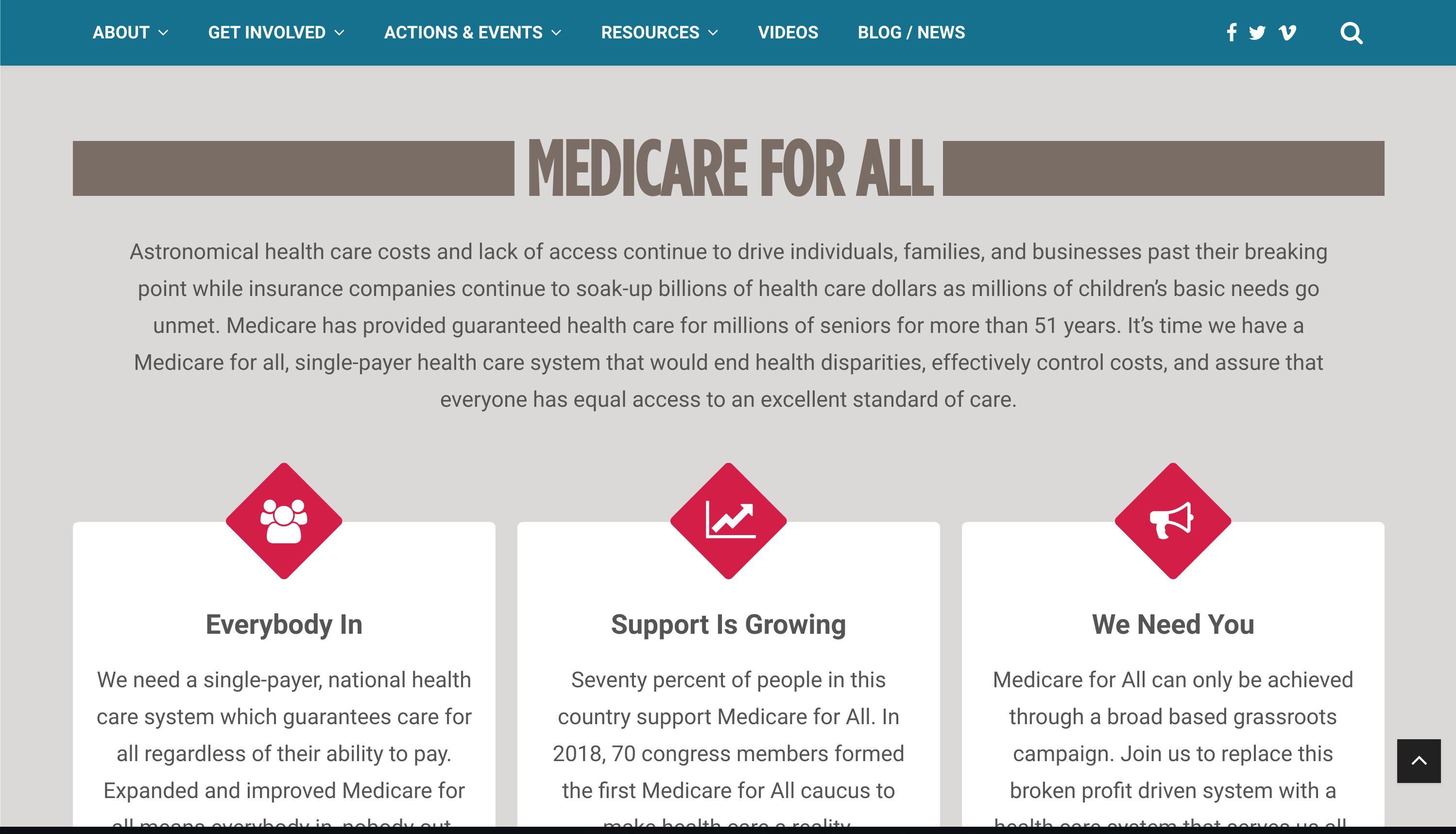 Medicare For All Medicare Healthcare System Health Care