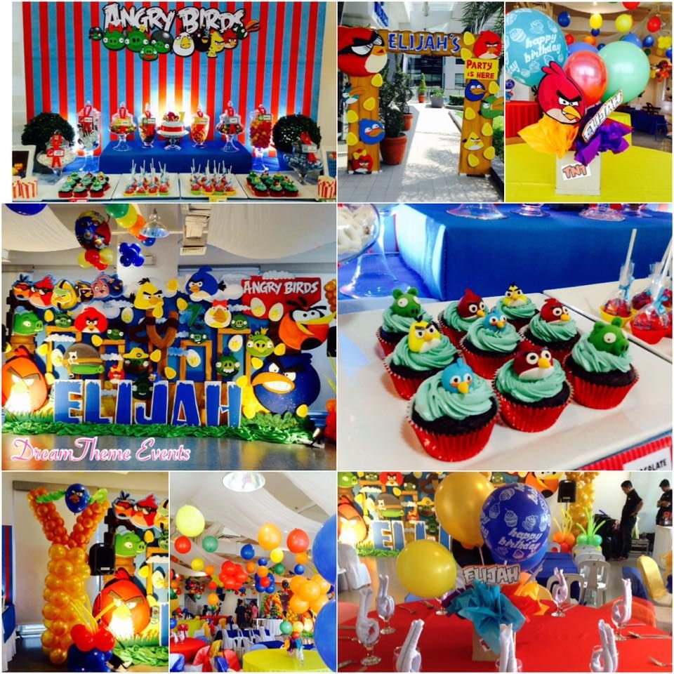 Angry Birds themed Birthday Party by DreamTheme Events Party Ideas