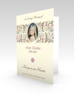 funeral stationery