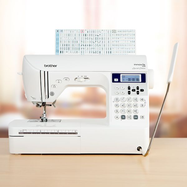 Brother Innovis 40 Computerised Sewing Machine With 40 Year Warranty Gorgeous Brother 550 Sewing Machine