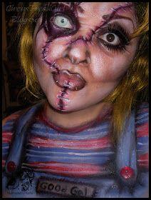 Hannabal Marie Makeup: Female Chucky Makeup Look | halloween ...
