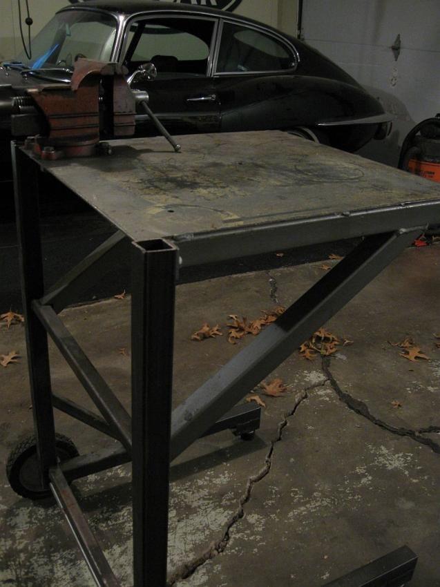 Small Welding Folding Table The Garage Journal Board Welding
