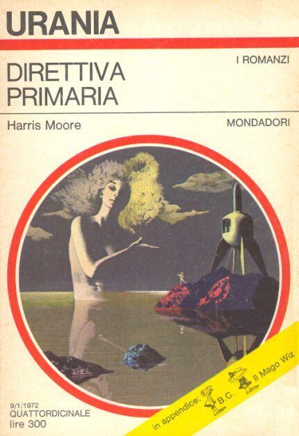 583  DIRETTIVA PRIMARIA 9/1/1972  SLATER'S PLANET (1972)  Copertina di  Karel Thole   HARRIS MOORE