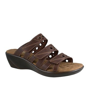 Another great find on #zulily! Tobacco Cho Leather Sandal by Walking Cradles #zulilyfinds