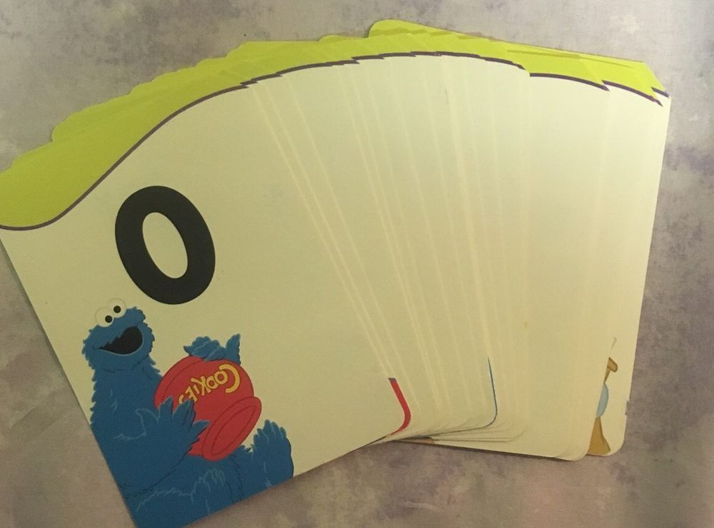 Sesame Street Number Flashcards Numbers 0 To 20 School Homeschool School Homeschool Number Flashcards Flashcards