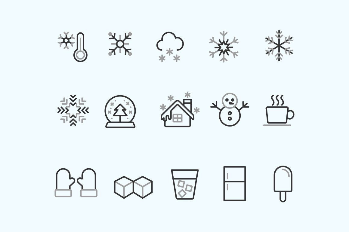15 Snow And Ice Icons Ice Icon Ice Cube Drawing Ice Tattoo