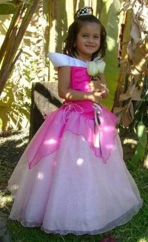 Vestidos Princesas Disfraz Aurora Bella Blanca Nieves