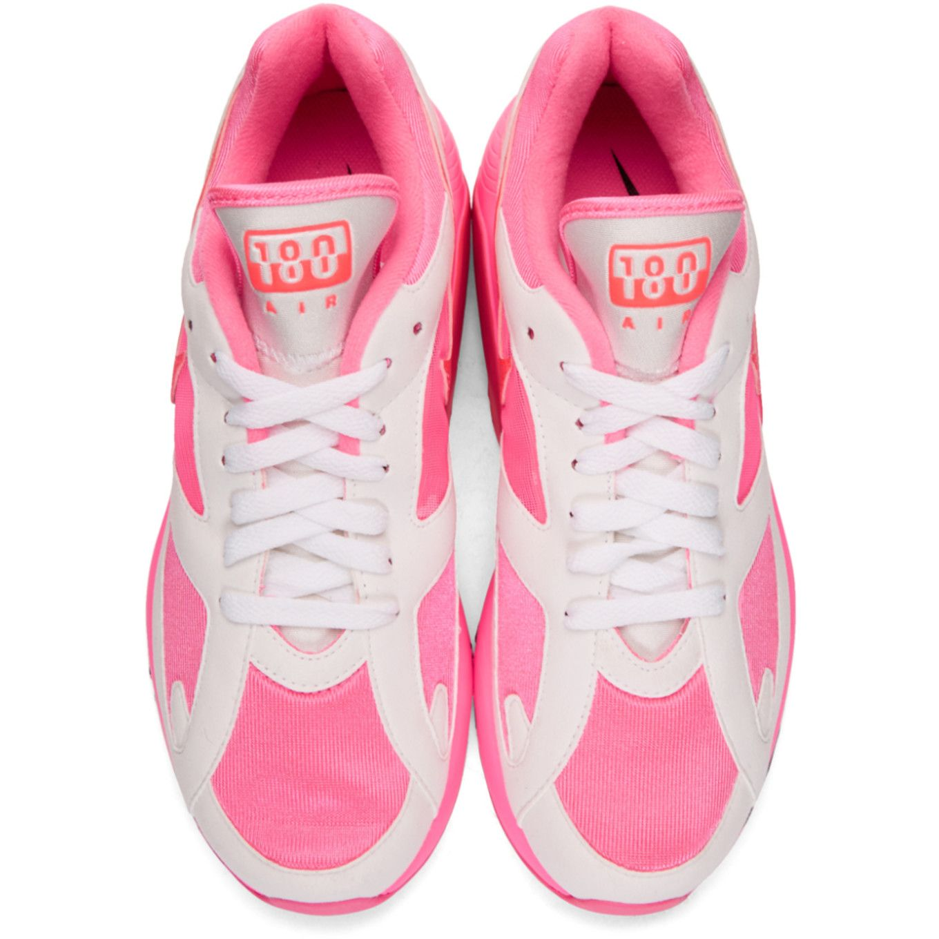 huge discount 18441 301f4 Comme des Garçons Homme Plus - White  Pink Nike Edition Air Max 180  Sneakers