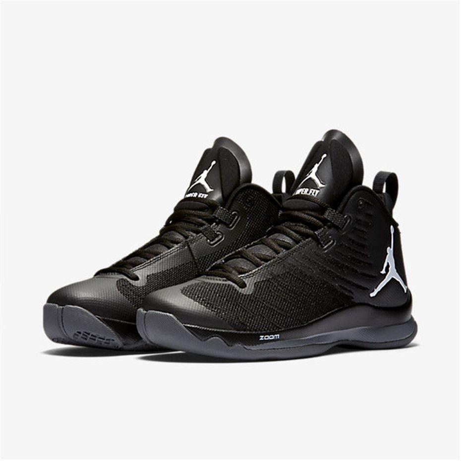 size 40 00742 048cf NIKE Jordan Super Fly 5 (Anthracite   Black   Dark Grey   White)