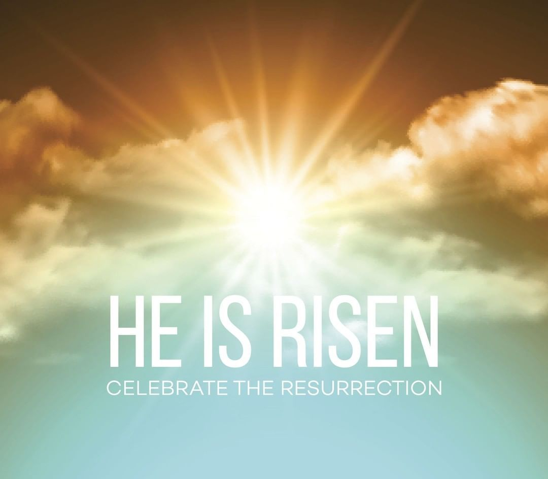 ALLELUIA! CHRIST IS RISEN! Join us for worship this morning as we celebrate  the Resurrection of ALLELUIA! CHR… | Christ is risen, Easter backgrounds,  He is risen