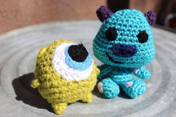 Amigurumi Monsters Inc : Baby monsters inc amigurumi amigurumi monsters and babies