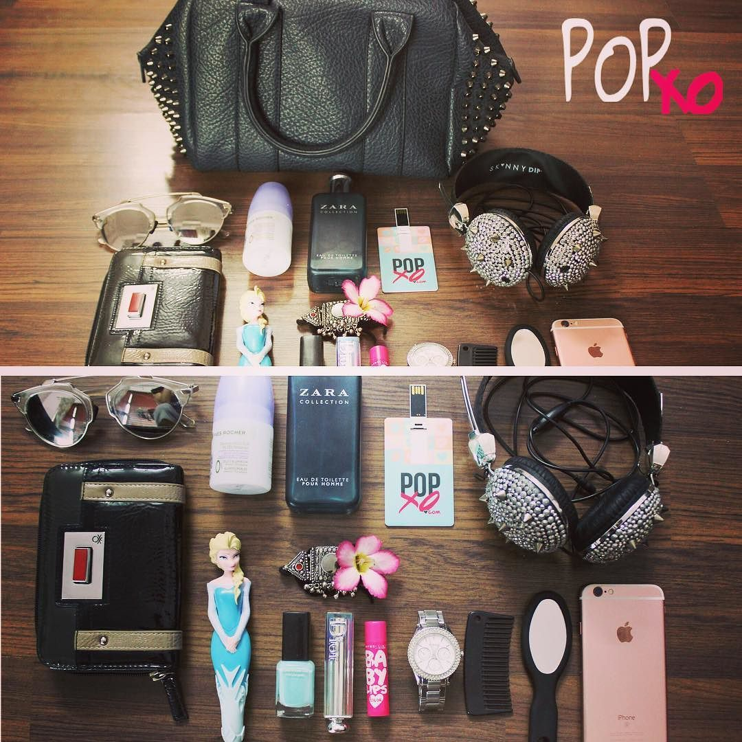 Whats in my bag  ya not so cool but ya definitely useful at times  #POPxoCampus #popinmybag #popxodaily by anilabansal