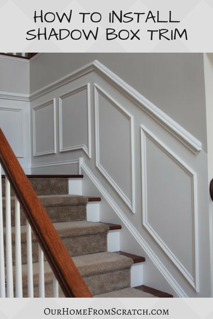 New Video How To Install Shadow Box Trim Wainscoting Styles Home Room Design Stair Paneling