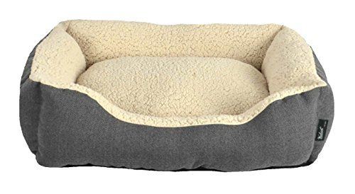 Woolrich Black Herringbone Rectangle Cuddler 28 X 23 X 65 You Can Get Additional Details At The Image Link Dog Bed Sizes Dog Bed Cool Dog Beds