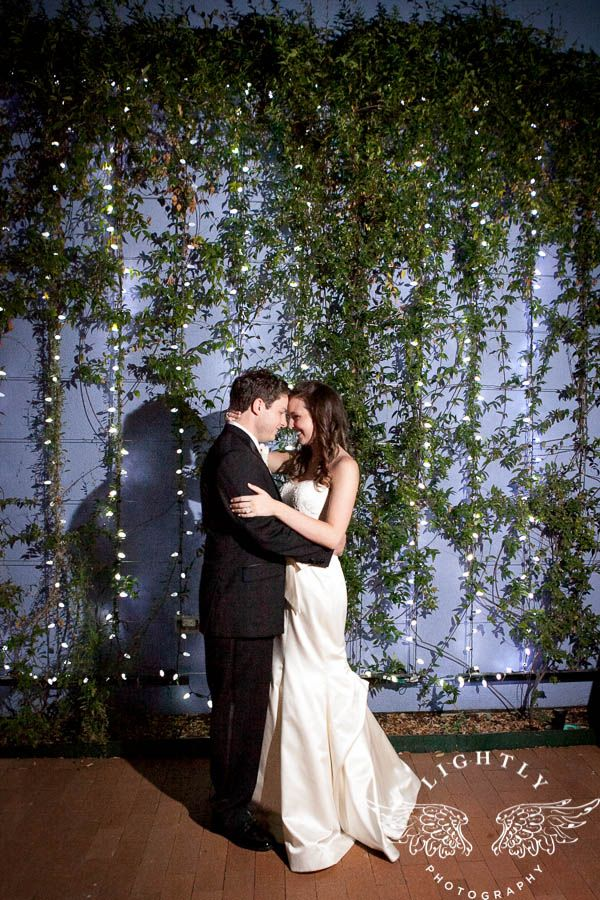 Wedding at the Fort Worth Museum of Science and History, Courtyard Photo - Taken by Lightly Photography