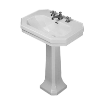 Duravit 043880 Pedestal Sink Duravit Wash Basin