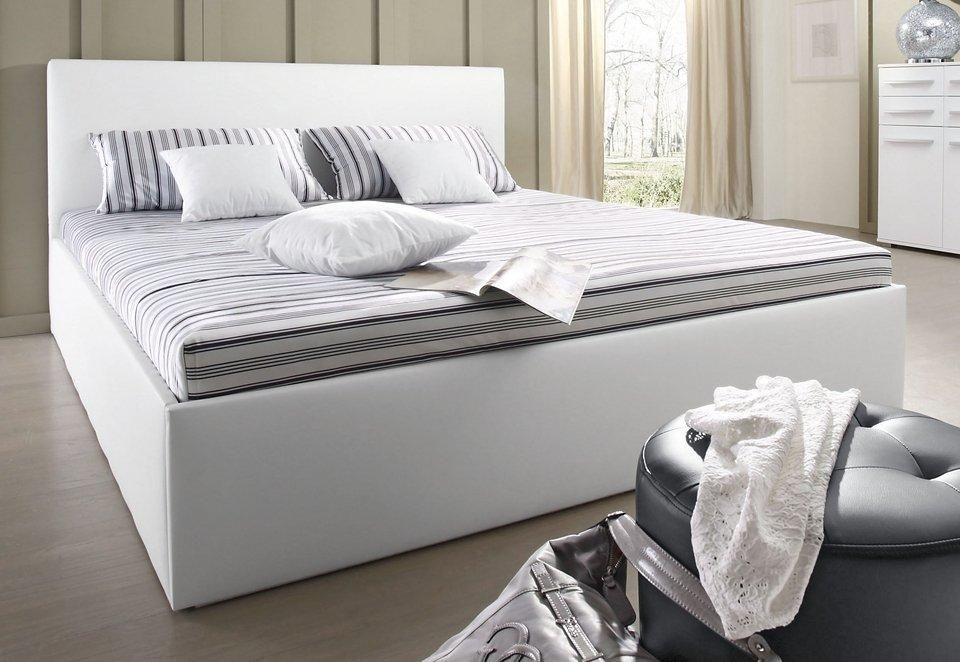 Bett 1 20m Kaufen Bettgestell Bett Weiss 90x200 Mit Bettkasten