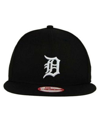 435d75f9075 New Era Detroit Tigers B-Dub 9FIFTY Snapback Cap - Black White Black  Adjustable