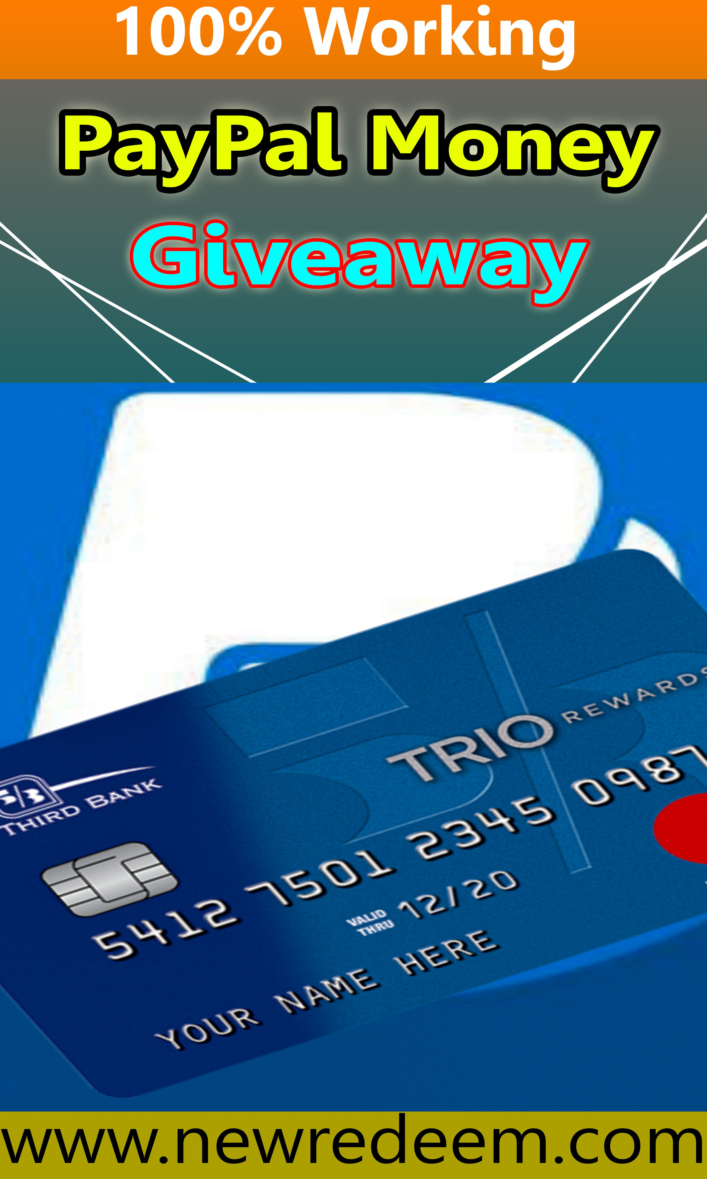 Earn Free Paypal Money Paypal Free Codes 2020 New Method Paypal Gift Card Paypal Hacks Digital Gift Card