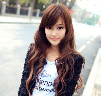 Woman S Guide Best Hairstyles Haircuts For Round Faces With Straight Wavy Or Curly Hair Hair Styles Long Hair Girl Oval Face Hairstyles