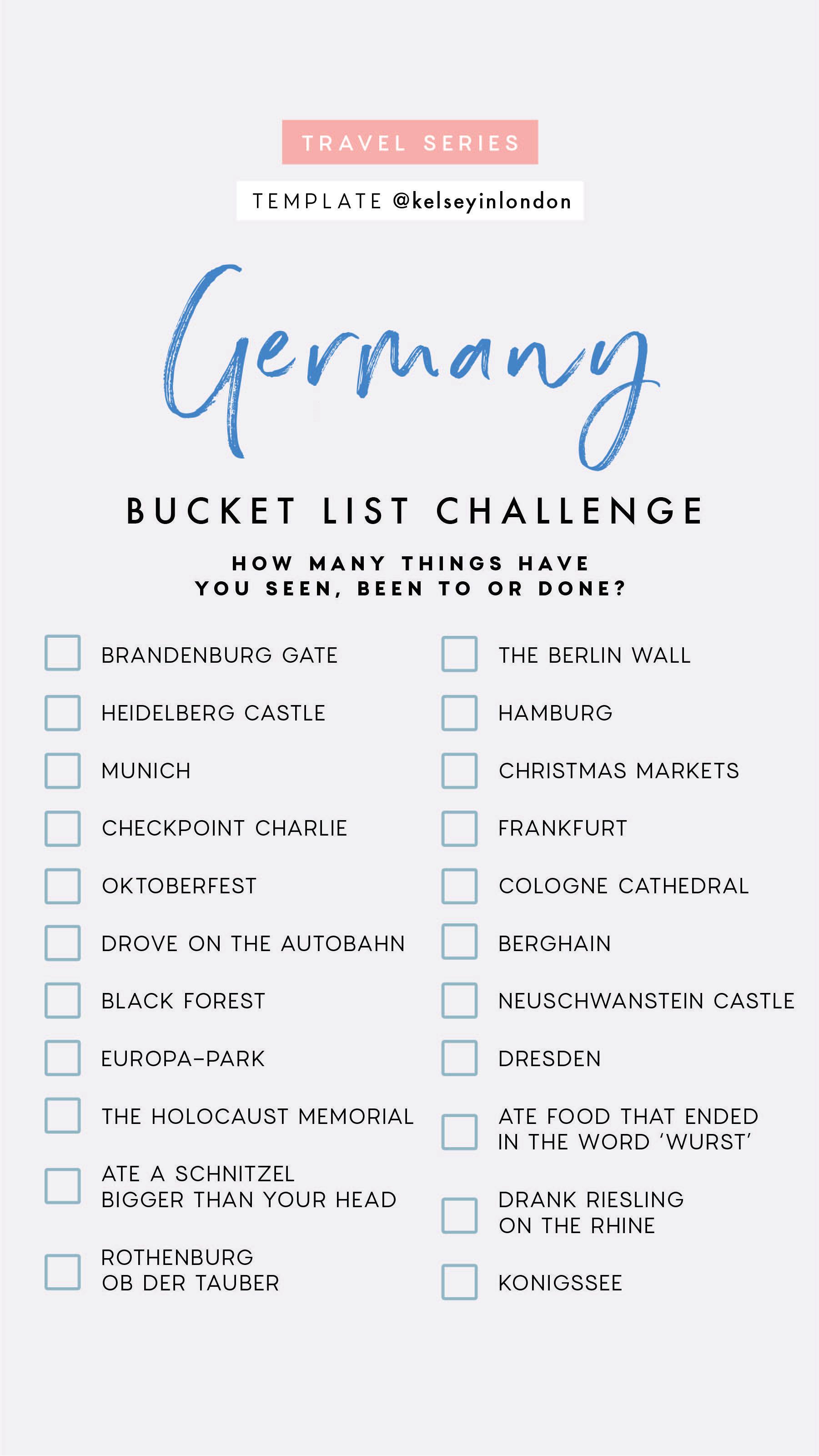 Idea By Magen Molgano On Wanderlust Bucket List Germany Bucket