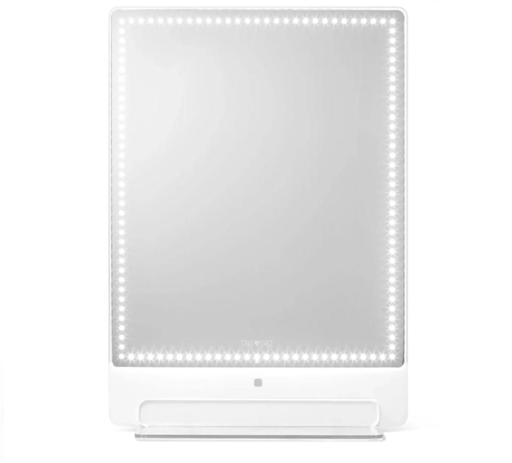 Riki Tall Magnifying Mirror Lighted Vanity Mirror Riki Mirror