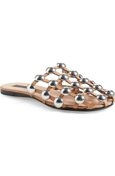 Alexander Wang 'Amelia' Slide Sandal (Women) available at #Nordstrom