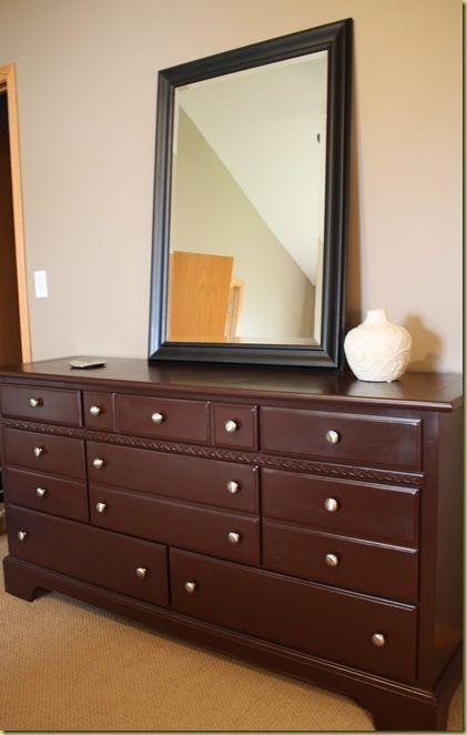 Painting Old Honey Knotty Pine Bedroom Furniture On My Summer To Do List Pine Bedroom Furniture Bedroom Dressers Bedroom