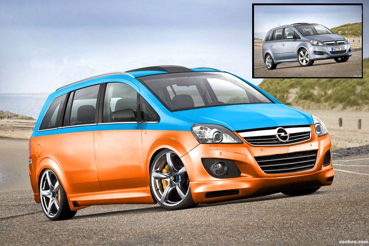 Opel Zafira Tuneado Guau Vauxhall Suv Car Car