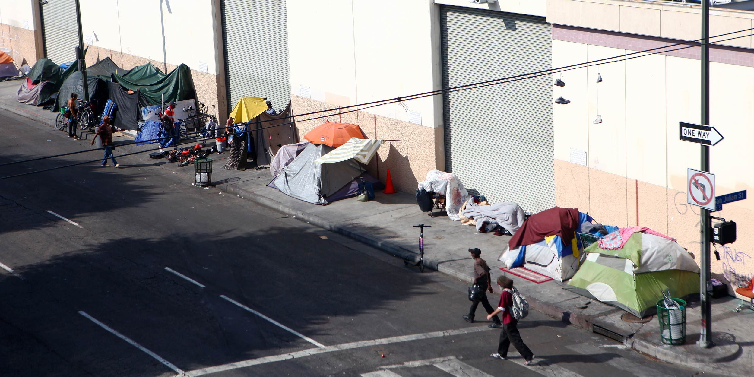 Living on the Streets of L.A. ,