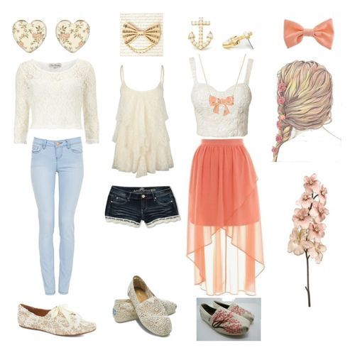 Cute Spring Outfits Ideas - Fashall