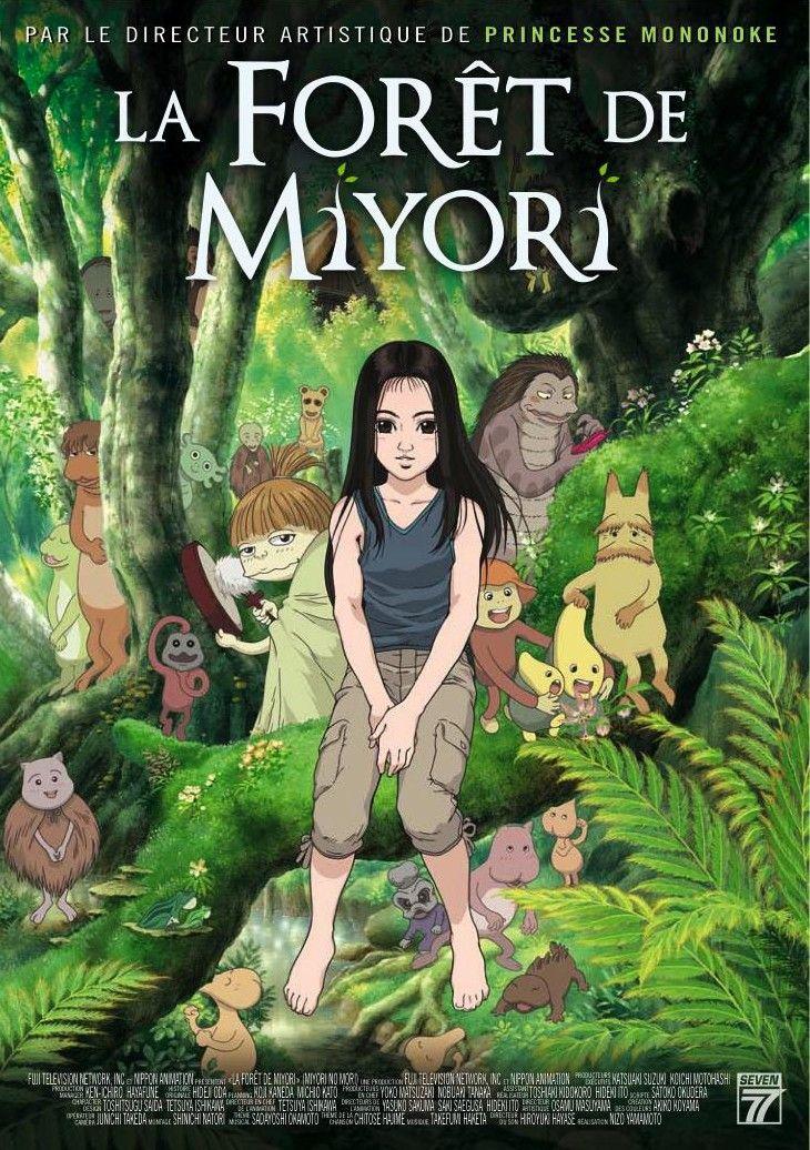la for t de miyori m a n g a s pinterest film animation japonais film japonais et film manga. Black Bedroom Furniture Sets. Home Design Ideas