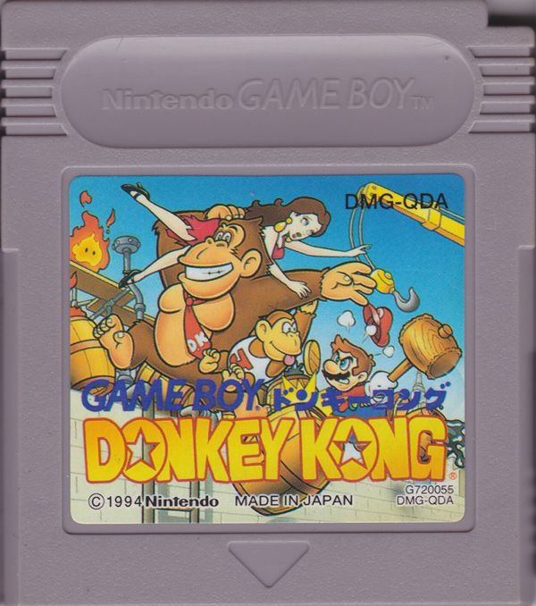Donkey Kong on the Game Boy Crammer podcast