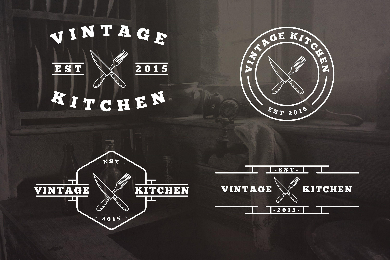 20 Vintage Kitchen Logos Kitchen Logo Vintage Logo Design Vintage Kitchen