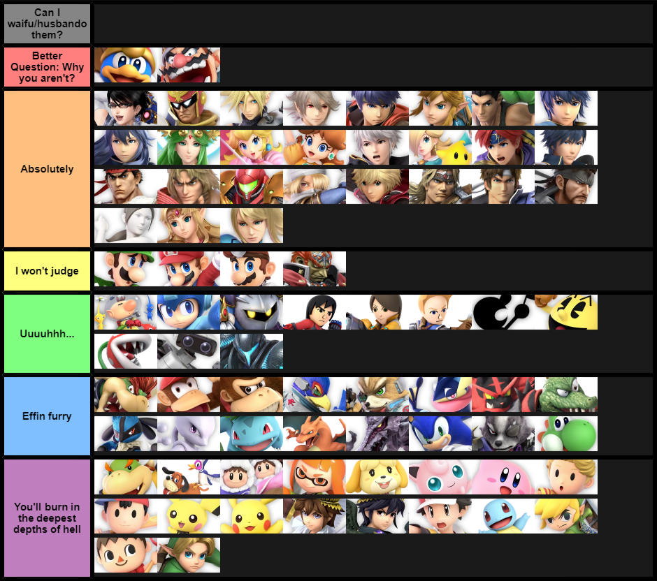 mario kart double dash tier list