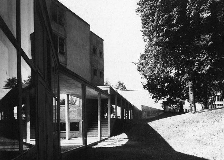 Max Bill Ulm Hochschule für Gestaltung  1950s