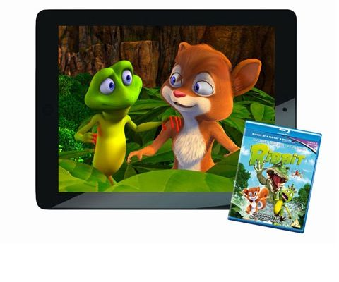 Win an Apple iPad and Ribbit Blu-ray sweepstakes