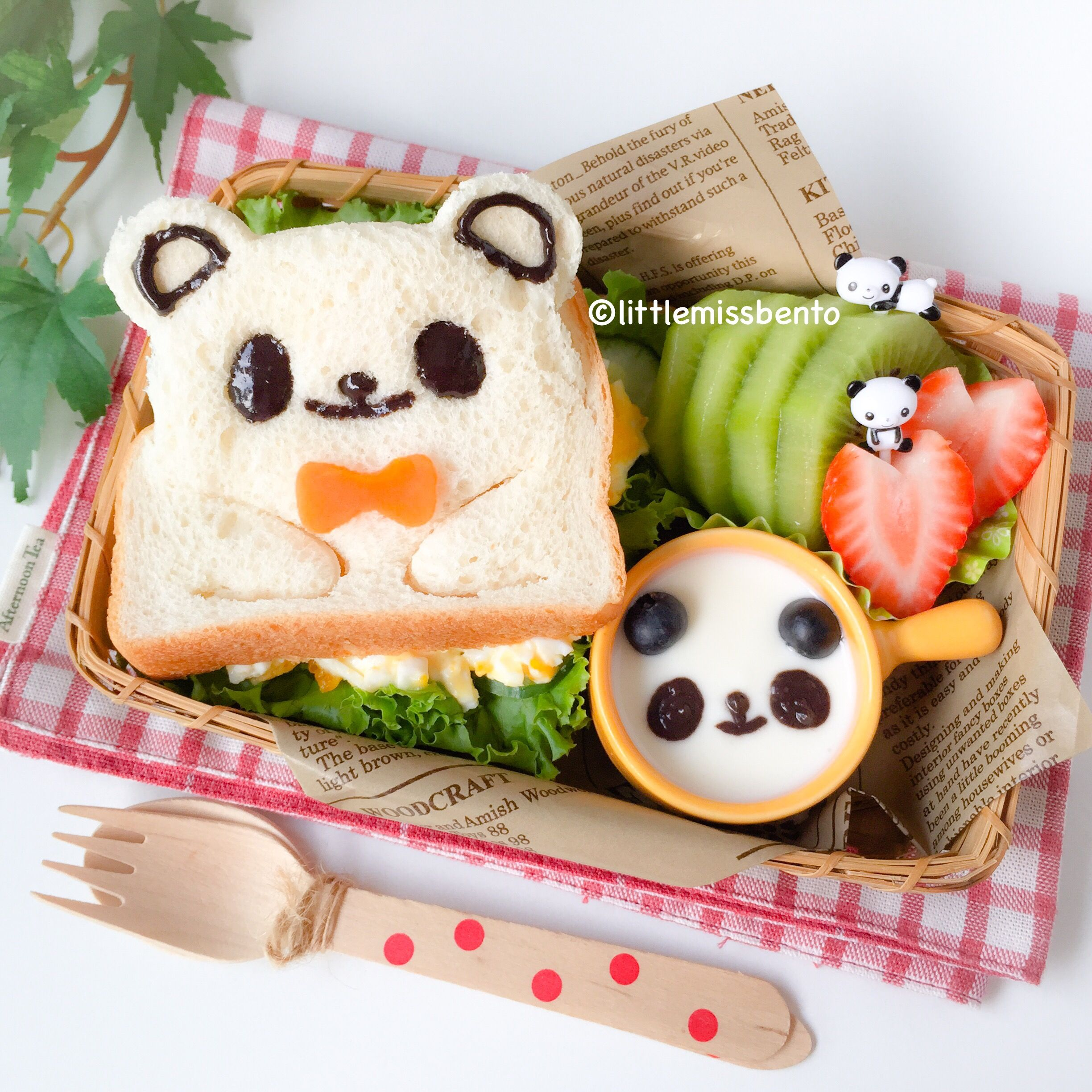 panda sandwich bento pinterest japanisches essen kinderessen und japanische. Black Bedroom Furniture Sets. Home Design Ideas