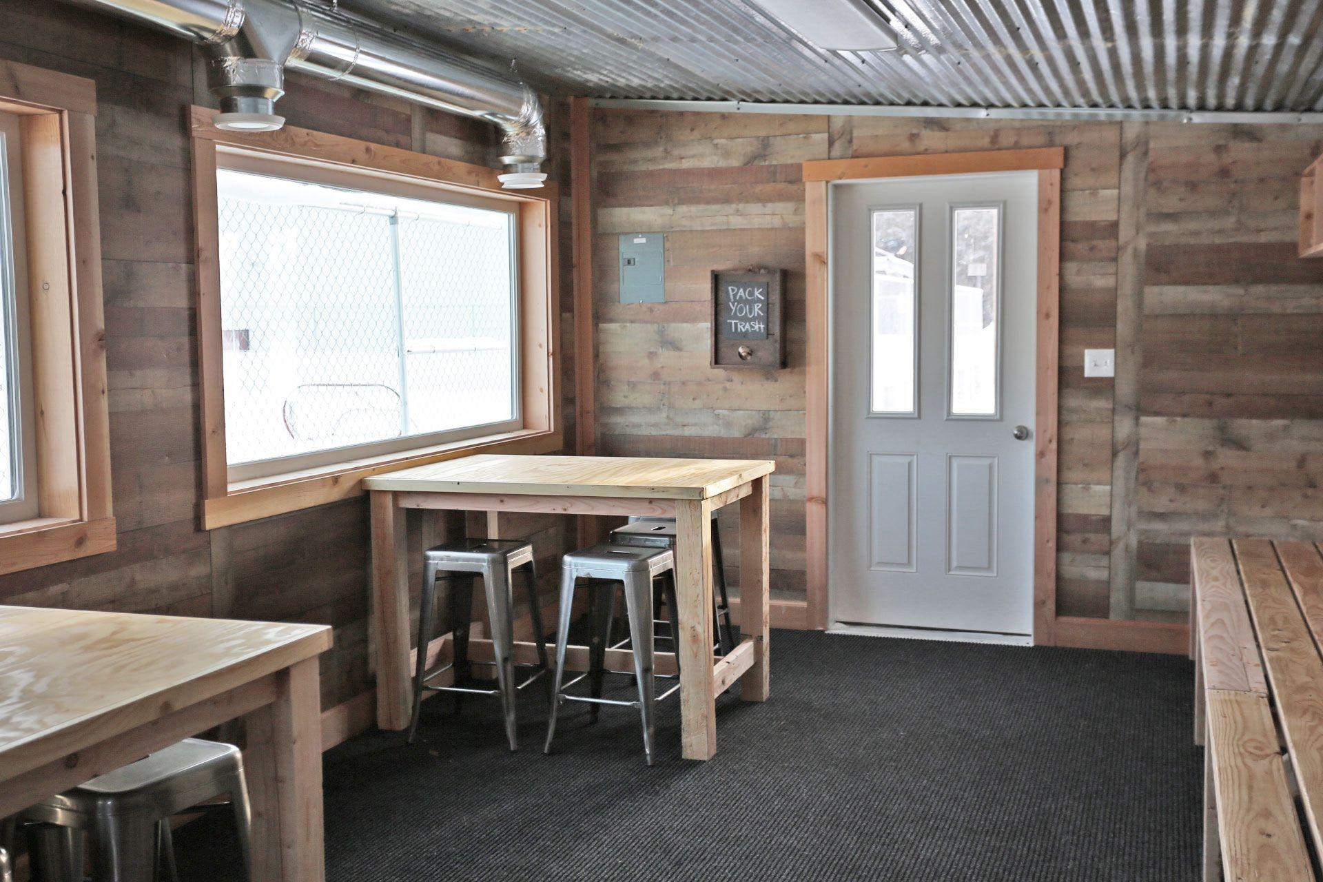 Counter Height Farmhouse Table for Four Farmhouse table
