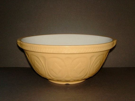 Vintage 1930s T G Green Gripstand Mixing Bowl Patent No 491517 | old ...