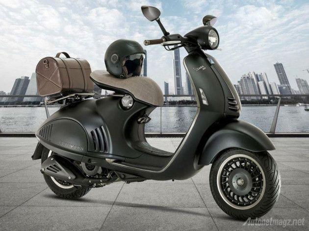 0ef4e8abd25 Vespa-946-Emporio-Armani | Scooters | Pinterest